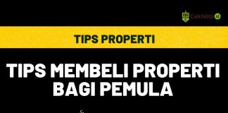 Tips Membeli Properti bagi Pemula
