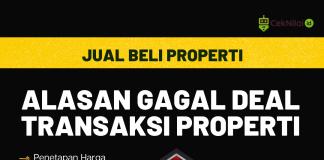 Lima Alasan Gagal Deal Transaksi Properti