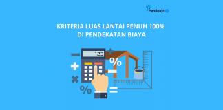 Kriteria Luas Lantai Penuh 100% di Pendekatan Biaya
