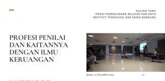 Profesi Penilai dan Kaitannya dengan Ilmu Keruangan | Asti Widyahari
